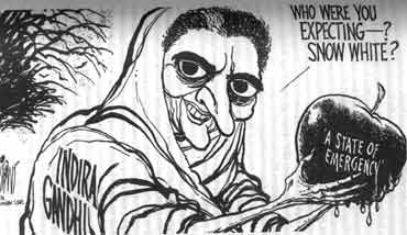 India Against Corruption - Indira Gandhi Emergency